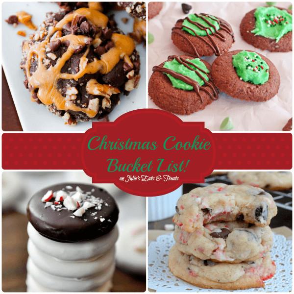 Christmas Cookies List  2013 Christmas Cookie Bucket List Julie s Eats & Treats