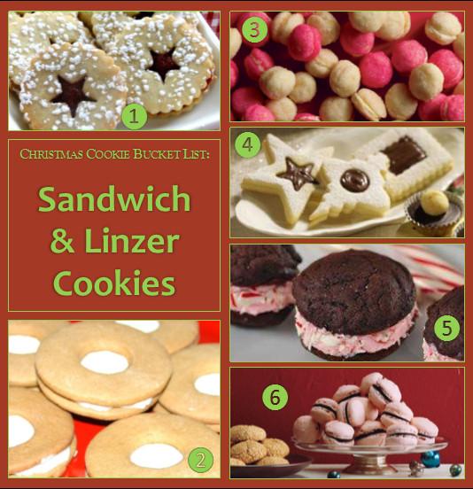 Christmas Cookies List  Christmas Cookie Bucket List