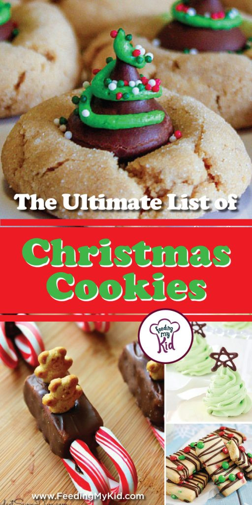 Christmas Cookies List  The Ultimate List of Christmas Cookies Recipes
