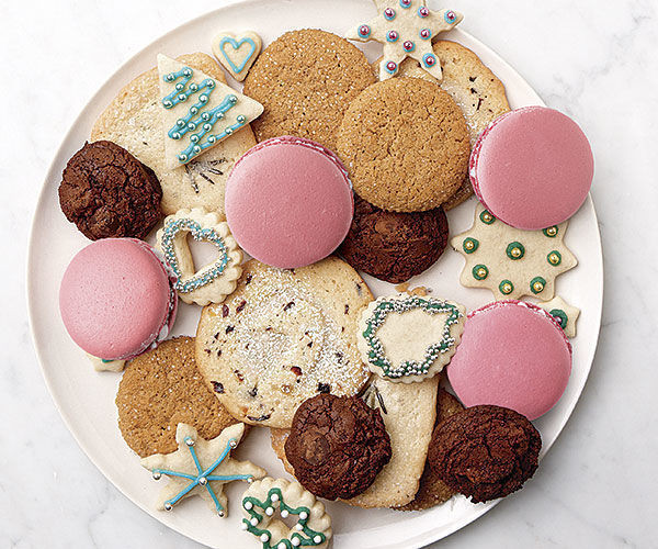 Christmas Cookies Plates  Cookie Baking Tips from the Pros How To FineCooking