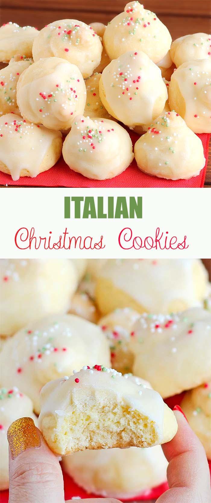 Christmas Cookies Recipe  Italian Christmas Cookies Cakescottage