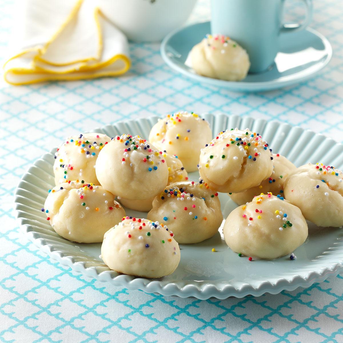 Christmas Cookies Recipe  Italian Sprinkle Cookies Recipe