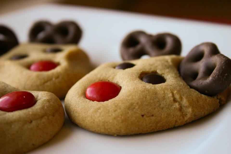 Christmas Cookies Recipe Pinterest  Christmas Reindeer Cookies