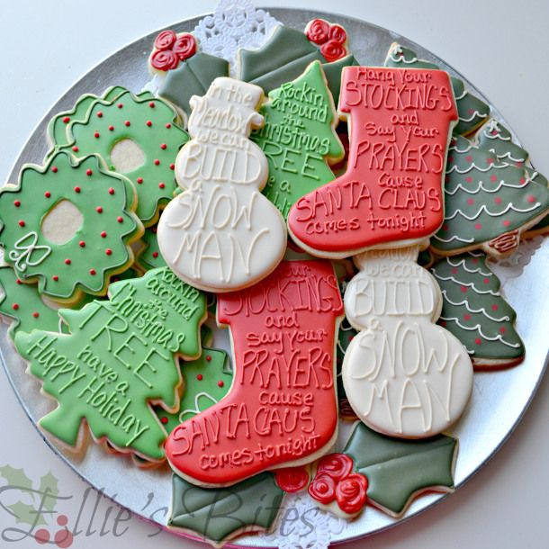 Christmas Cookies Song Lyrics  Easy Elegant Christmas Cookies