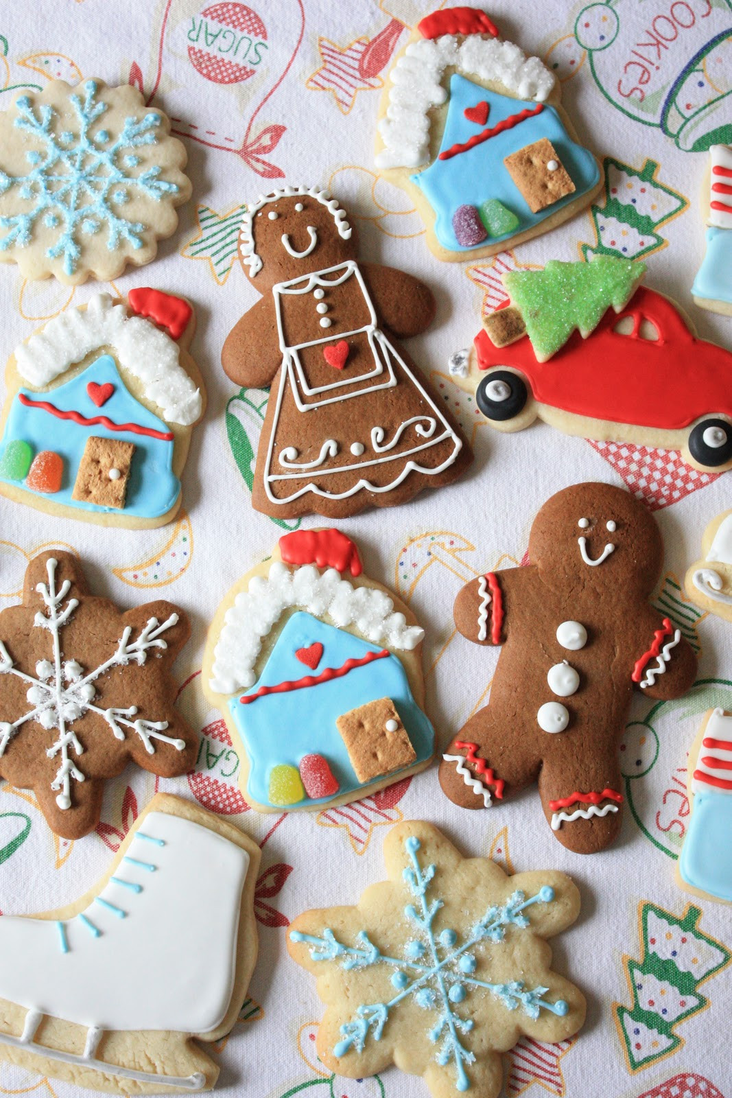 Christmas Cookies Sugar Cookies  Munchkin Munchies Christmas Sugar Cookies