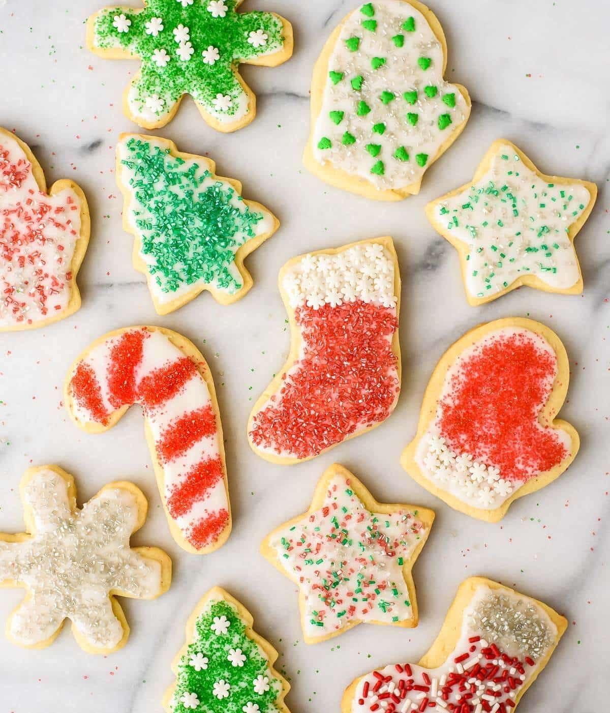Christmas Cookies Sugar Cookies  Cream Cheese Sugar Cookies Recipe