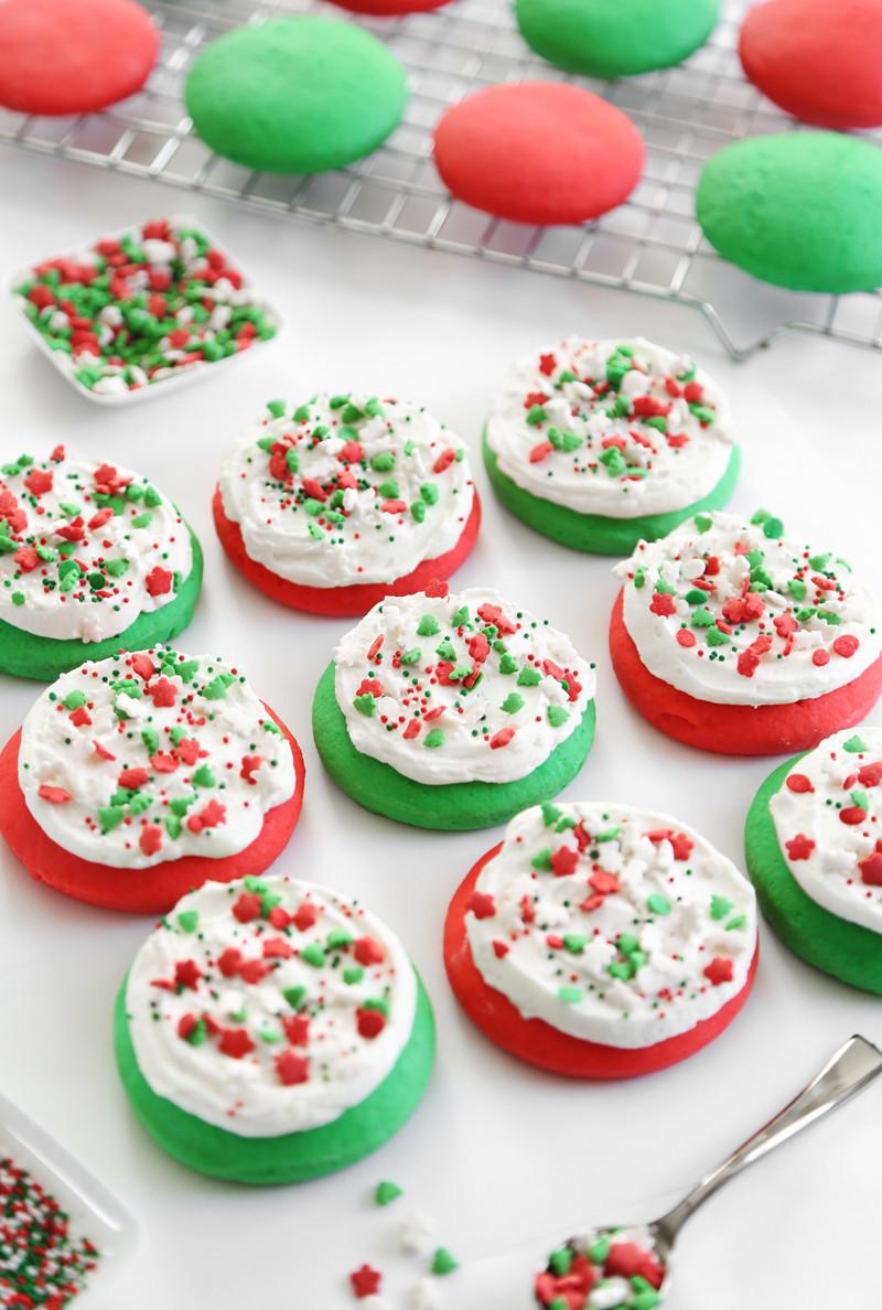 Christmas Cookies Sugar Cookies  Lofthouse Style Soft Sugar Cookies
