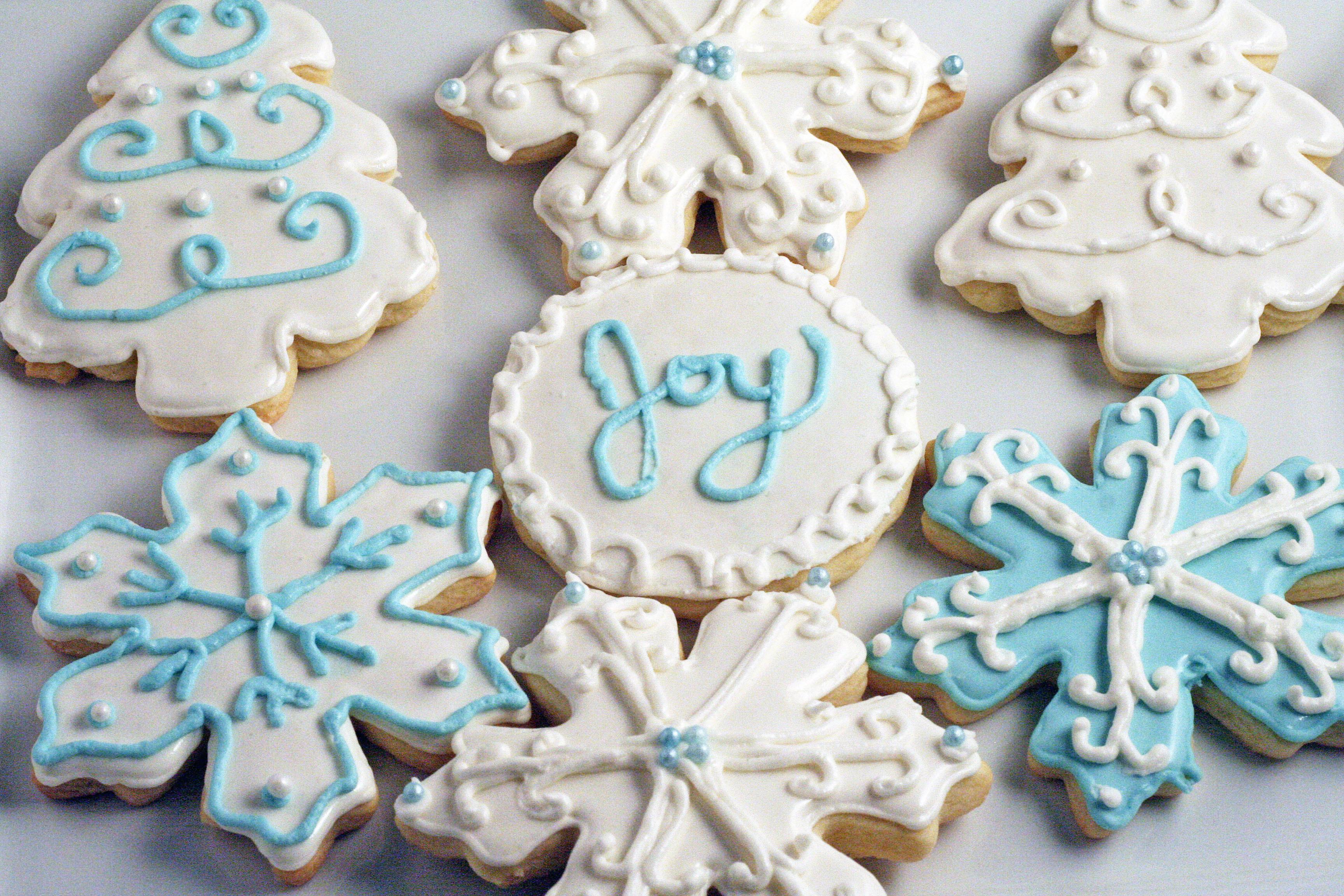 Christmas Cookies Sugar Cookies  Decorated Christmas Sugar Cookies