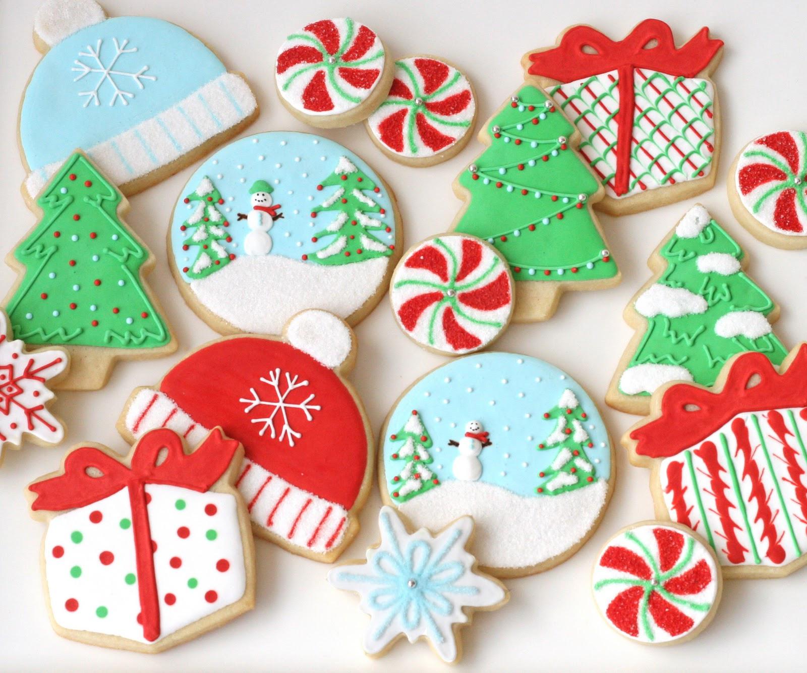 Christmas Cookies Sugar Cookies  Christmas Cookies Galore Glorious Treats