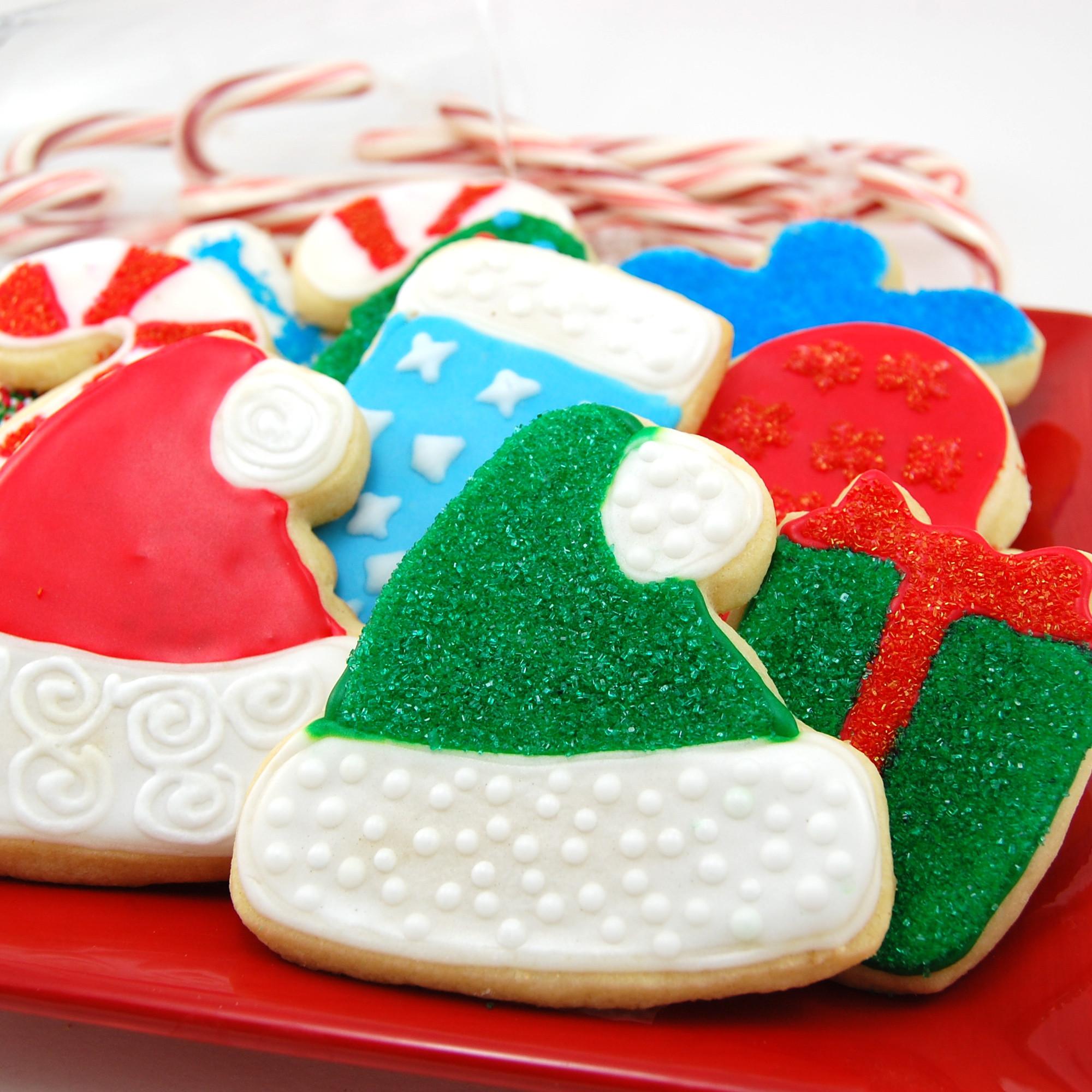 Christmas Cookies Sugar Cookies  December 2011