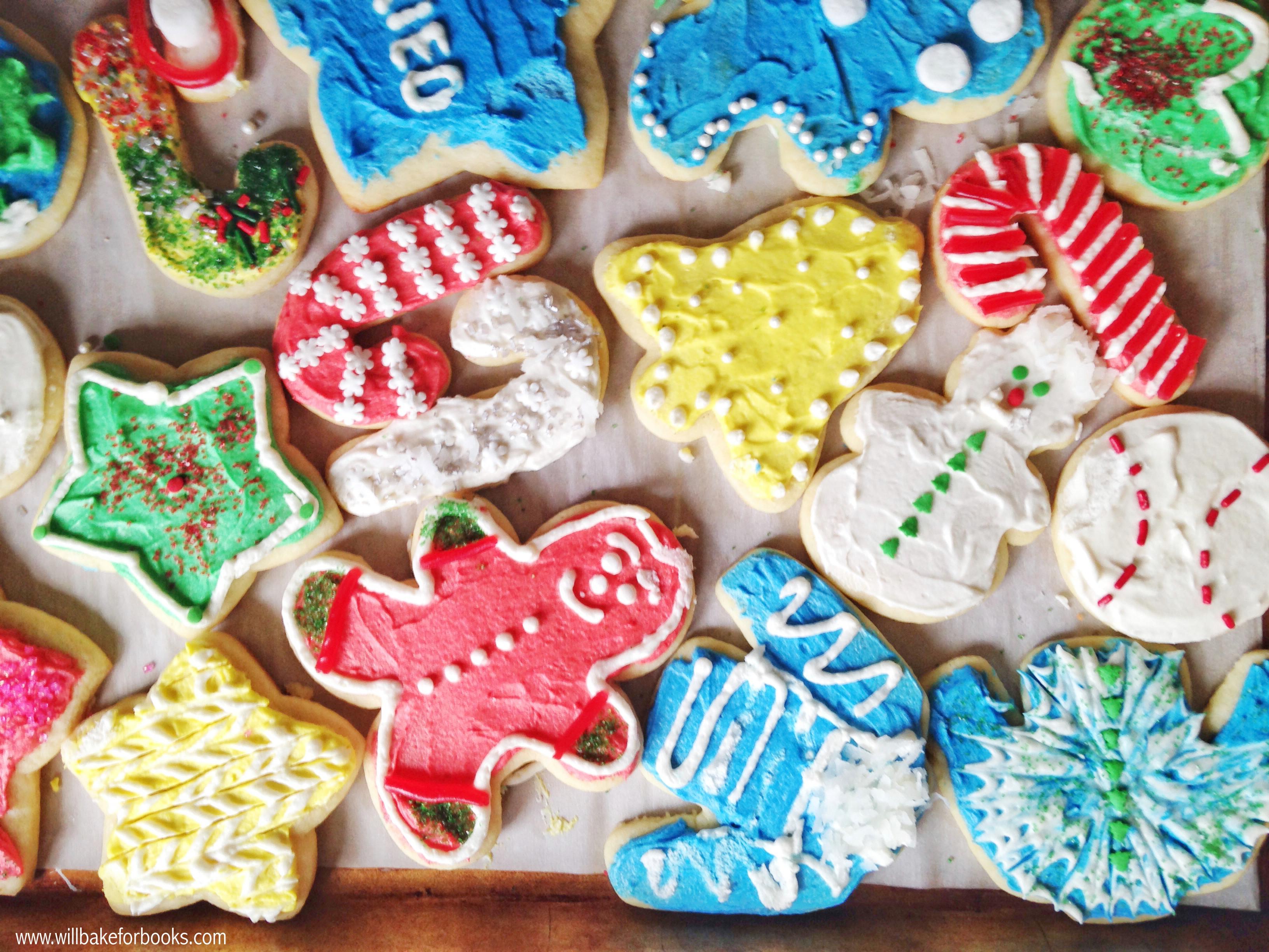 Christmas Cookies Sugar Cookies  The Best Christmas Sugar Cookies Will Bake for Books