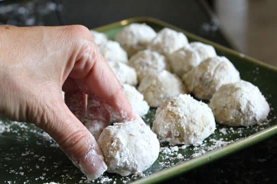 Christmas Cookies With Powdered Sugar  Browned Butter Pecan Balls BettyCrocker