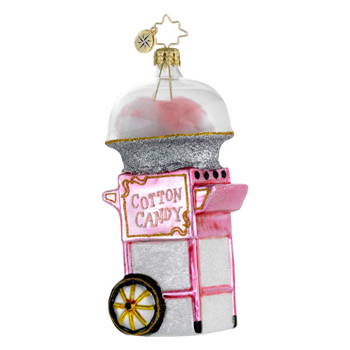 Christmas Cotton Candy  Radko Ornaments 2014