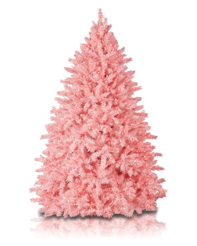 Christmas Cotton Candy  Cotton Candy Pink Christmas Tree