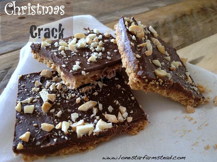 Christmas Crack Candy  Christmas Crack Cracker Candy