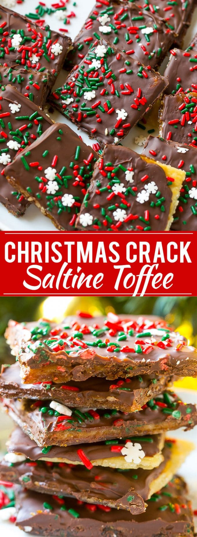 Christmas Crack Candy Recipe  Christmas Crack Saltine Toffee Dinner at the Zoo