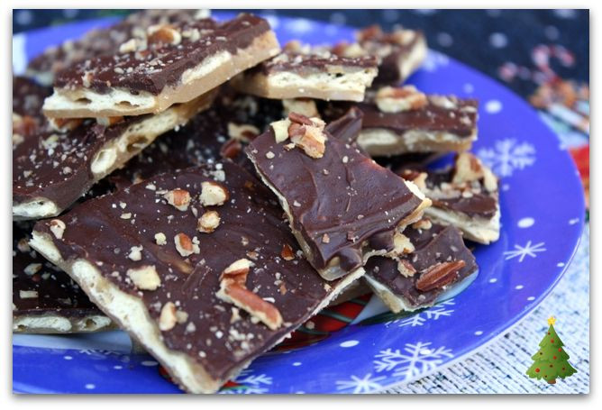 Christmas Crack Candy Recipe  Mommy s Kitchen Recipes From my Texas Kitchen Saltine