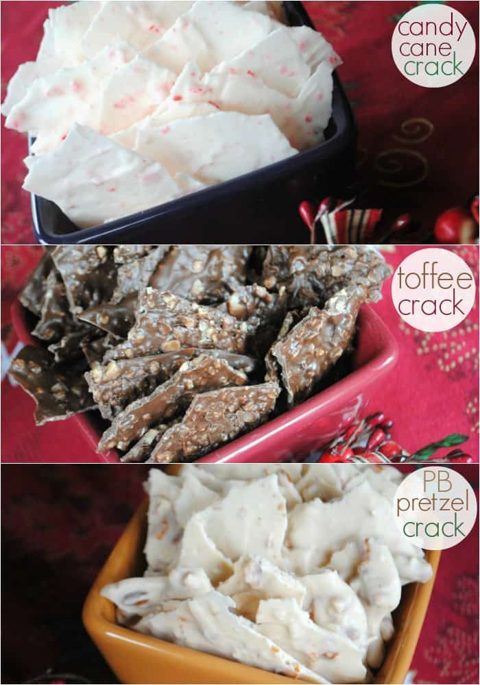 Christmas Crack Recipe With Pretzels  Holiday Candy Crack Three ways Shugary Sweets