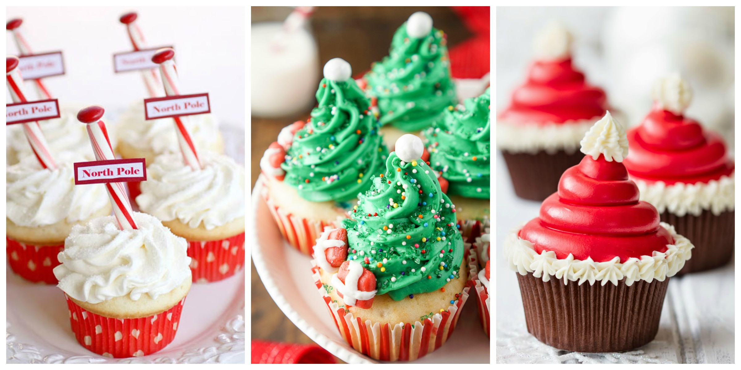 Christmas Cupcakes Ideas  19 Christmas Cupcakes Cupcake Decorating Ideas
