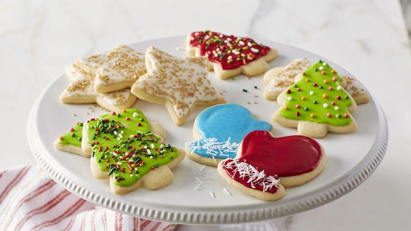 Christmas Cutout Cookies  Classic Christmas Sugar Cookie Cutouts Recipe
