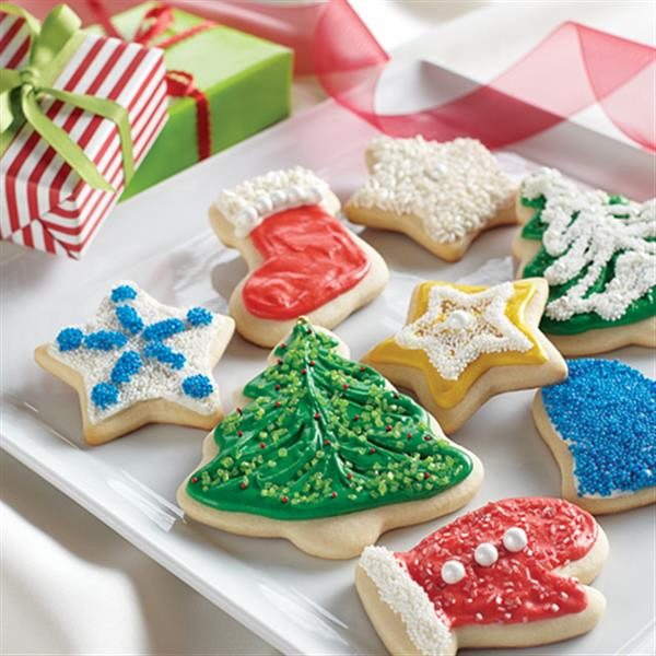 Christmas Cutout Cookies  Holiday Cut Out Cookies