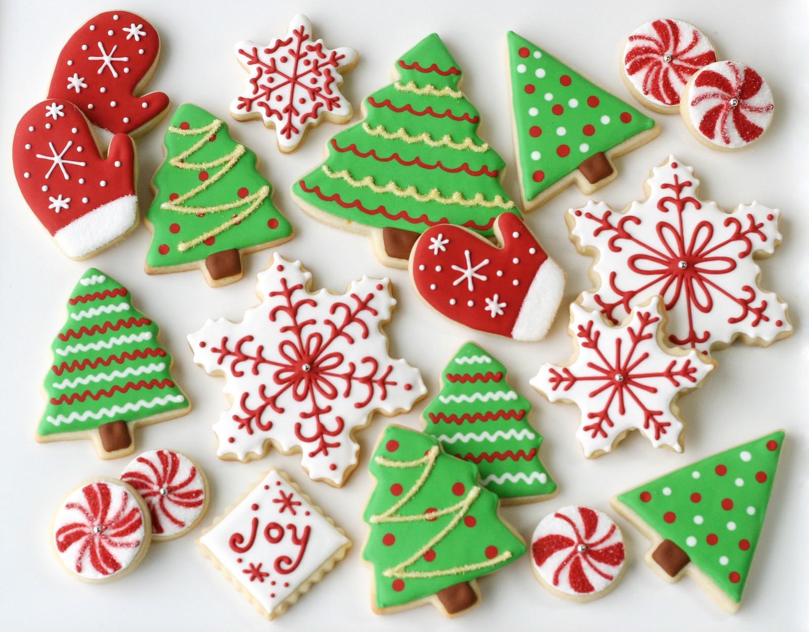 Christmas Cutout Cookies  Christmas Cookies Galore Glorious Treats