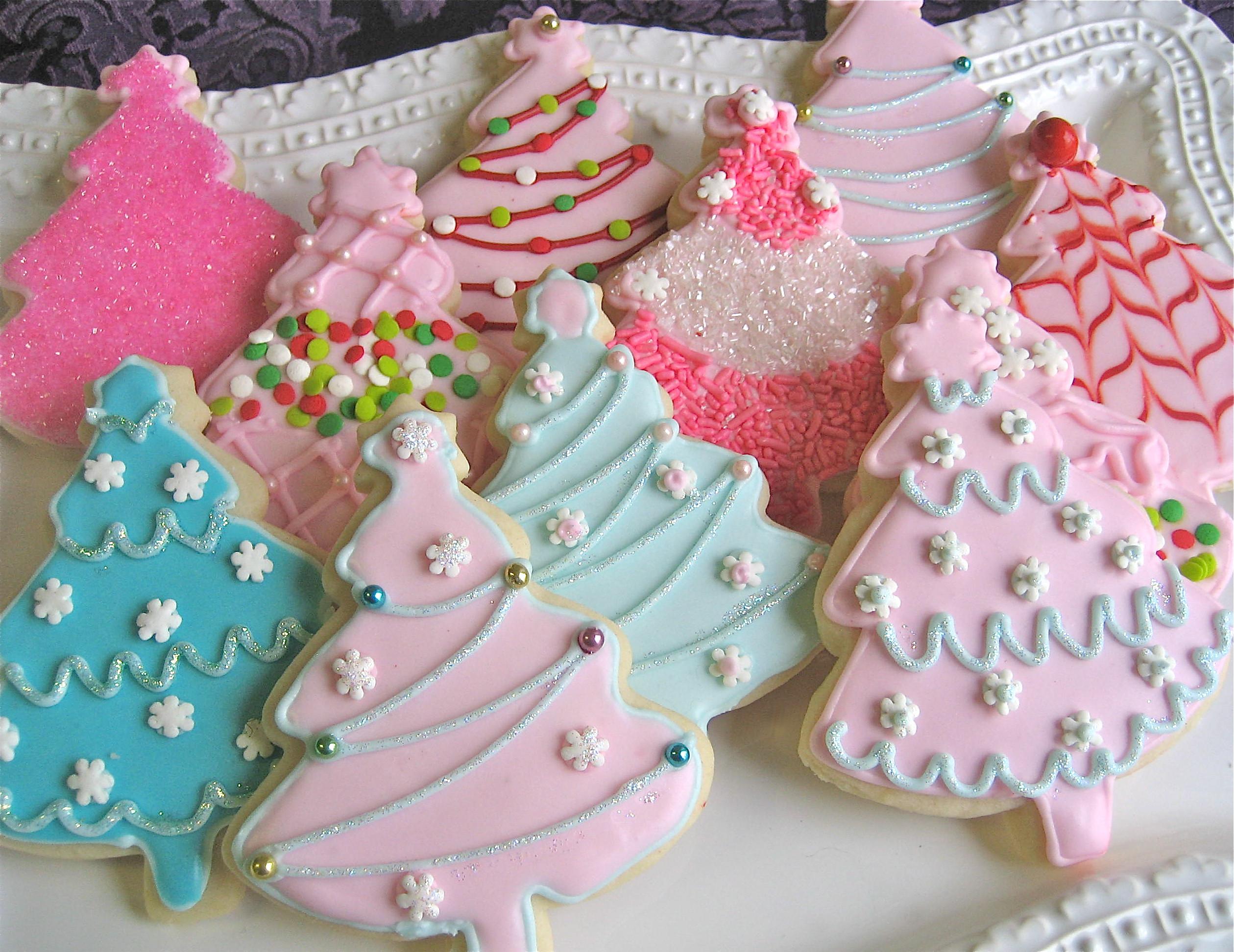 Christmas Cutout Cookies  Christmas Cutout Cookies – Ornaments & Trees