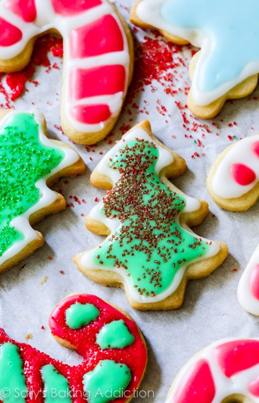 Christmas Cutout Cookies  Christmas Sugar Cookies with Easy Icing
