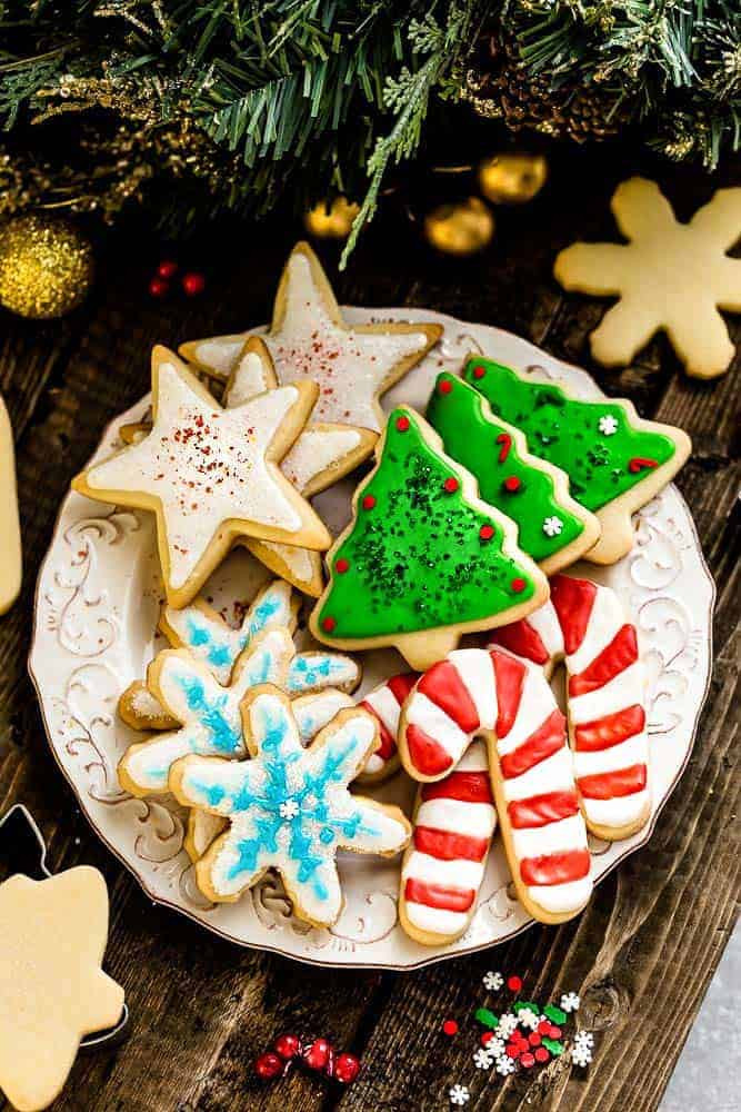 Christmas Cutout Cookies  The Best Sugar Cookie Recipe for Cut Out Shapes