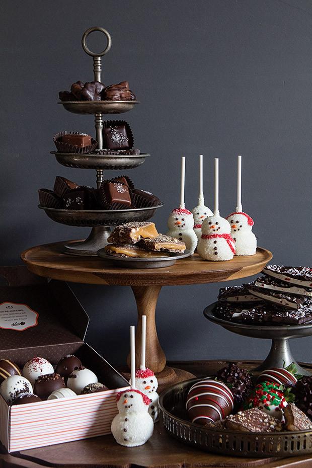 Christmas Dessert Table  Holiday Dessert Table