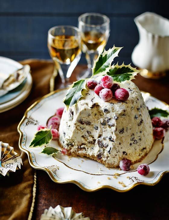 Christmas Desserts 2019  Iced Christmas pudding Recipe in 2019