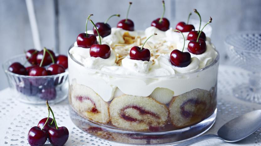 Christmas Desserts Mary Berry  Mary Berry's tipsy trifle recipe BBC Food