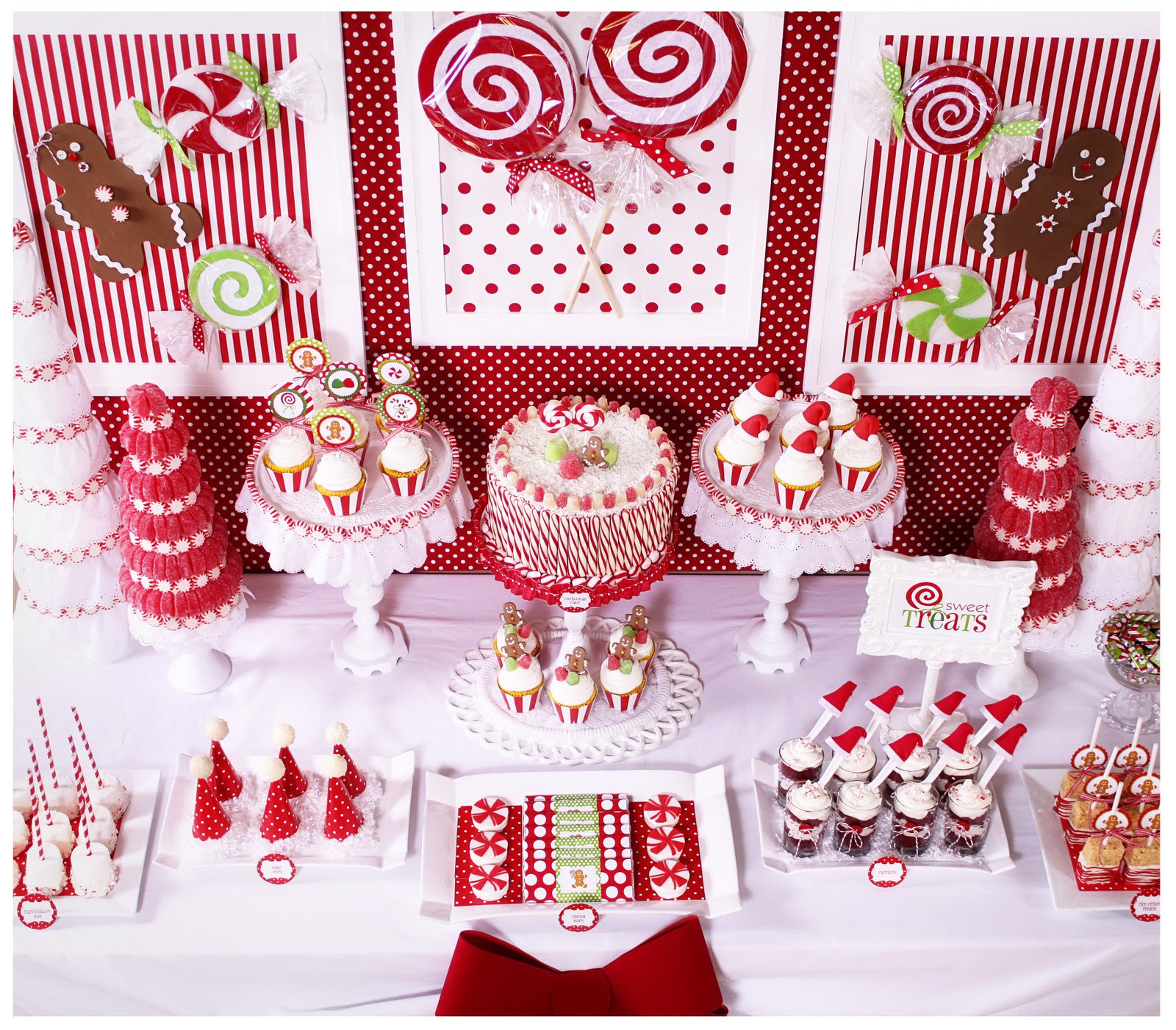 Christmas Desserts Party  Amanda s Parties To Go Candy Christmas Dessert Table