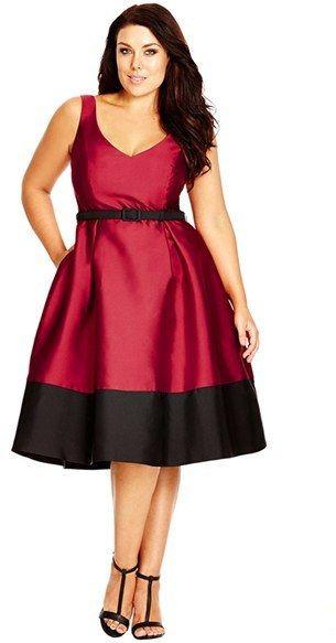 Christmas Dinner Dresses  5 plus size dresses for Christmas dinner curvyoutfits