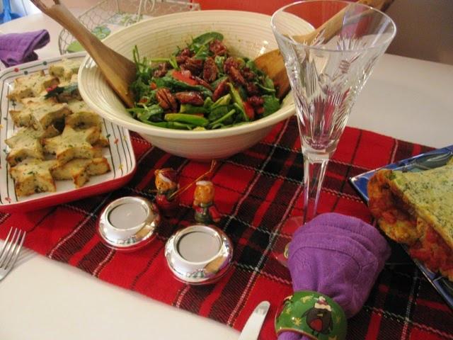 Christmas Dinner For Two  Green Gourmet Giraffe Christmas dinner for two
