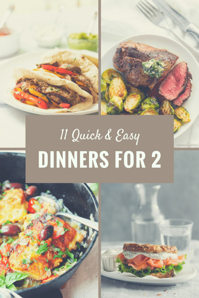 Christmas Dinner For Two  11 Quick Dinners for Two ⋆ Two Lucky Spoons