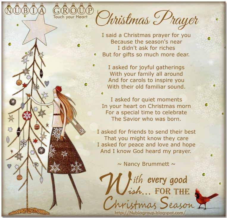 Christmas Dinner Prayers Short  morning Nubia group – Start your day with a smile