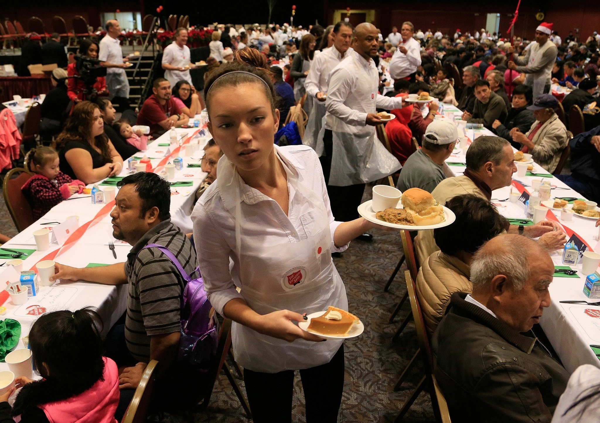 Christmas Dinner San Diego 2019  The Salvation Army 32nd annual Christmas Dinner The San