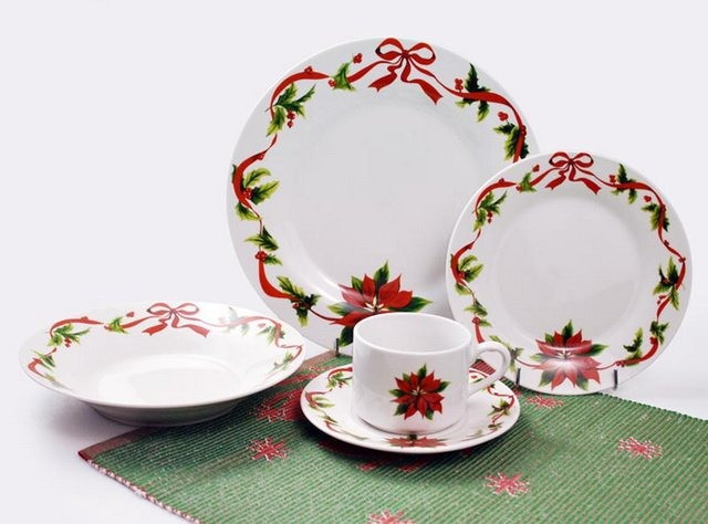 Christmas Dinner Set  Christmas Dinner Sets