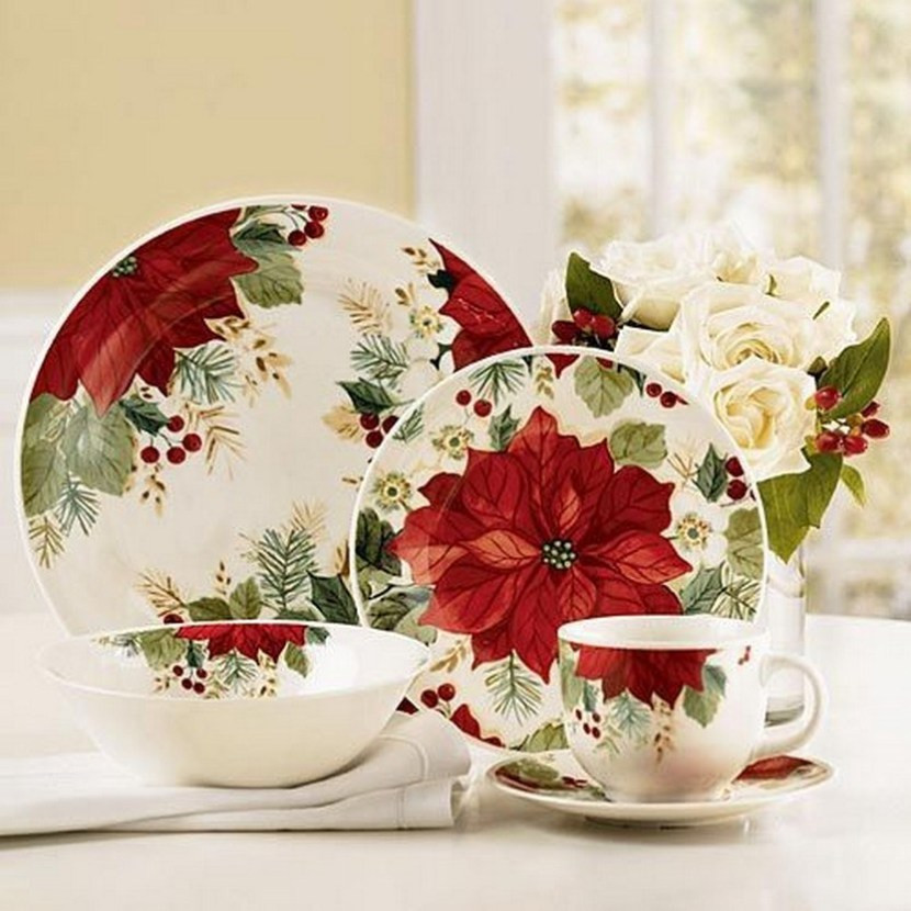Christmas Dinner Set  57 Beautiful Christmas Dinnerware Sets – Christmas s