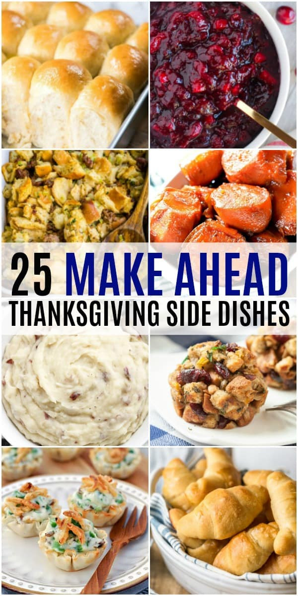 Christmas Dinner Side Dishes Make Ahead  25 Make Ahead Thanksgiving Side Dishes ⋆ Real Housemoms