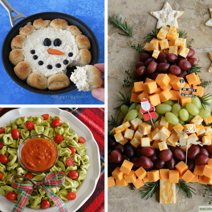 Christmas Dips And Appetizers  CHRISTMAS APPETIZERS 20 creative and fun holiday appetizers