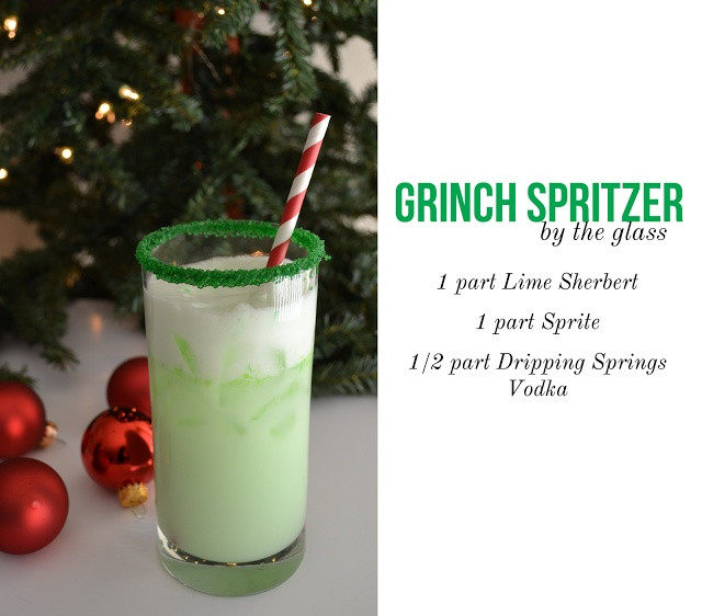 Christmas Drink Recipes  Best 25 The grinch drink ideas on Pinterest