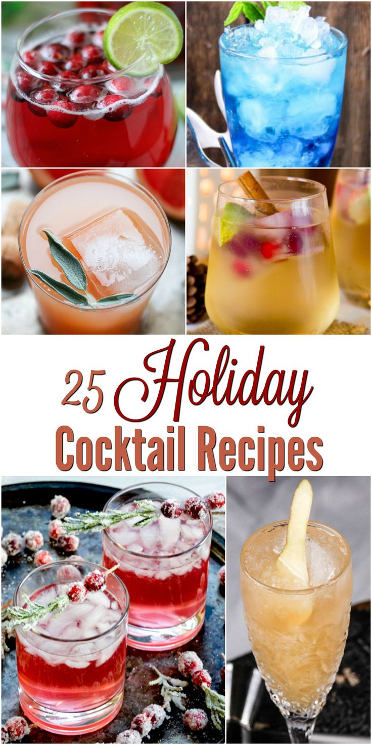 Christmas Drink Recipes  1000 ideas about Drink Menu on Pinterest