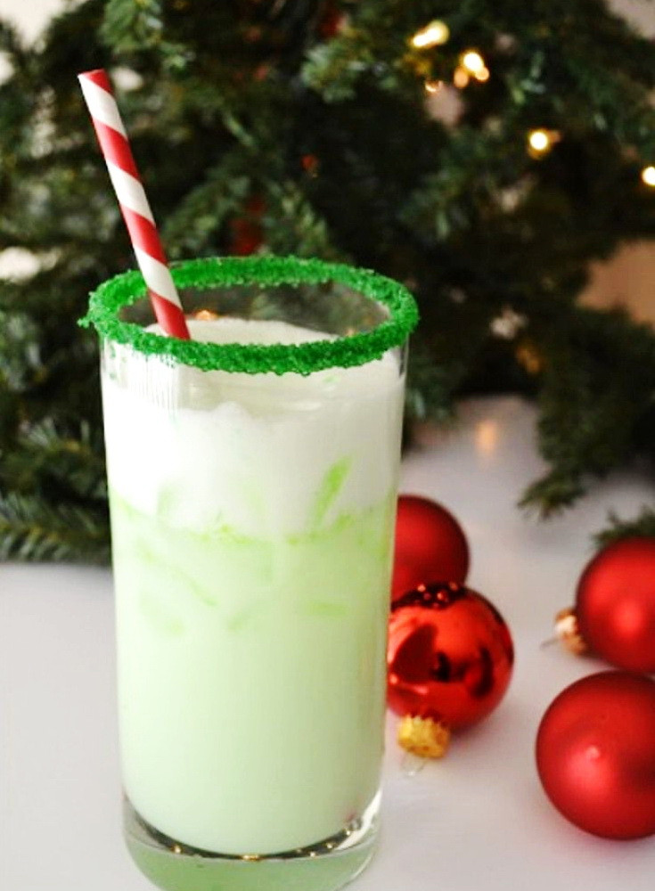 Christmas Drink Recipes  Christmas Elf Cocktail – Cheap Holiday Alcoholic Party
