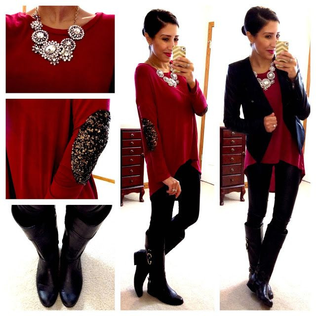 Christmas Eve Dinner Ideas Casual  18 best images about Fashion Winter on Pinterest