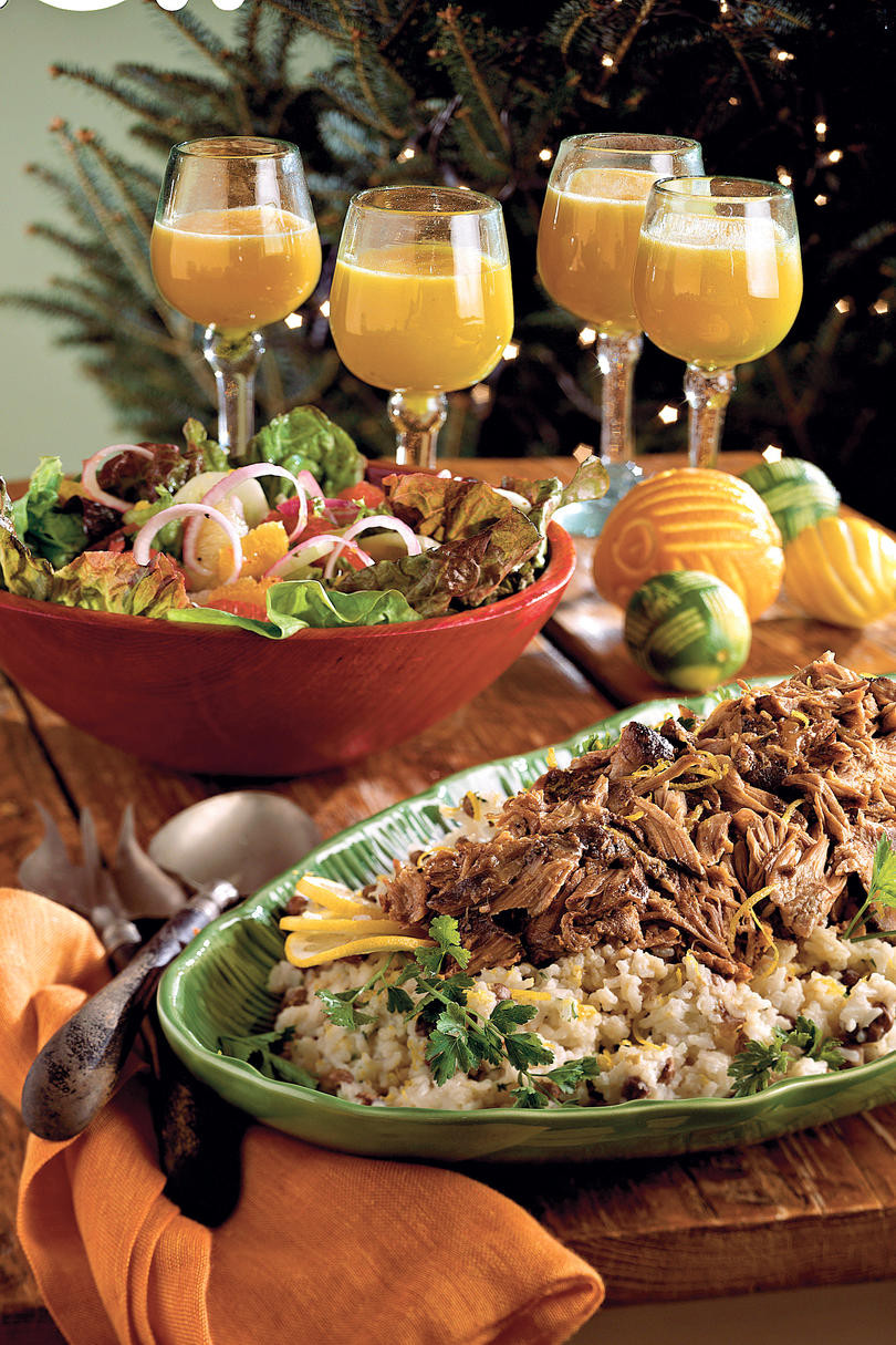 Christmas Eve Dinner Ideas Casual  Holiday Dinner Party Menus Southern Living