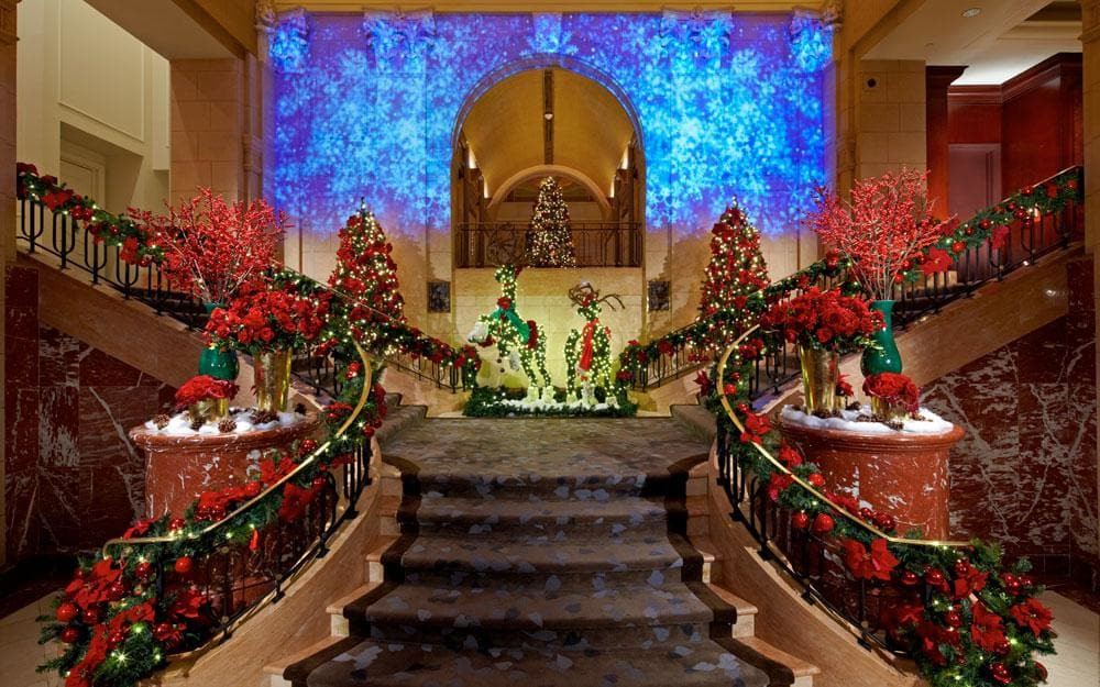 Christmas Eve Dinner Ny  The best hotels for Christmas in New York
