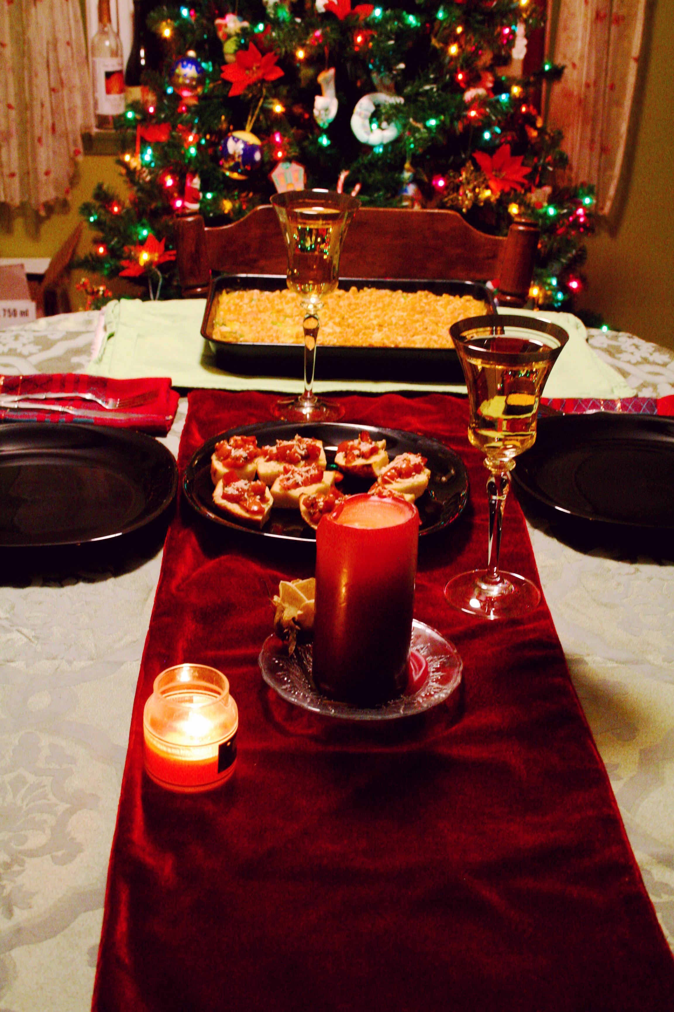 Christmas Eve Dinners  December 2010 Christina Stetler graphy