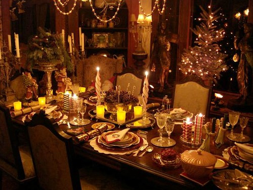 Christmas Eve Dinners  Christmas Eve Dinner Table Decorations